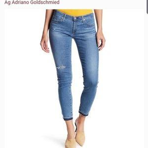 AG Stevie Ankle jeans!